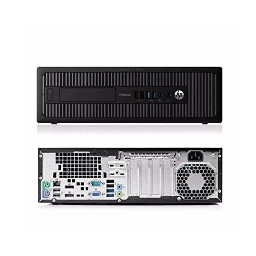 HP ProDesk 600 G1 SFF - Back - Product Gallery - Praxi LTD - ΠΡΑΞΗ ΕΠΕ