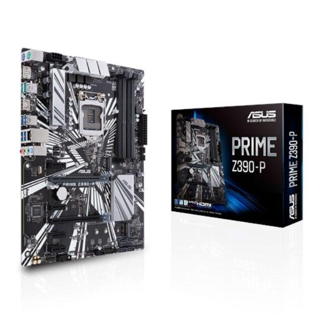 ASUS MOTHERBOARD PRIME Z390-P, 1151, DDR4, ATX - Praxi Ltd - Πραξη ΕΠΕ