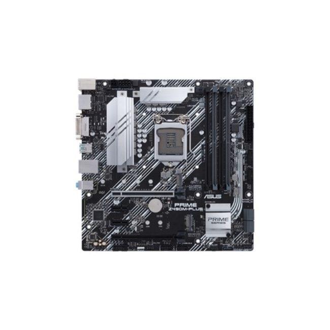 ASUS MOTHERBOARD PRIME Z490M-PLUS, 1200, DDR4, MATX - Praxi ltd - Πραξη ΕΠΕ