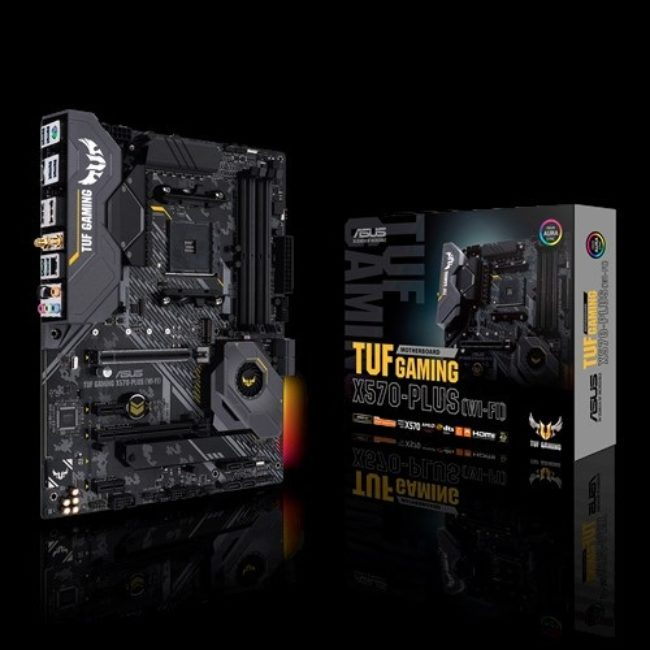 ASUS MOTHERBOARD TUF GAMING X570-PLUS WIFI, AM4, ATX - praxi ltd - πραξη επε