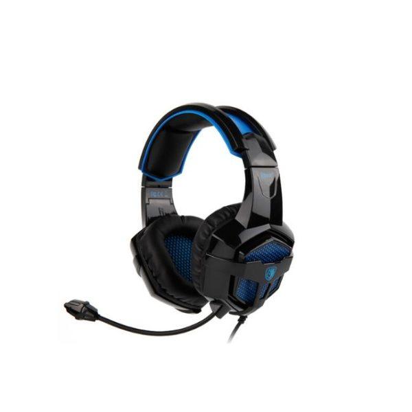 SADES Gaming Headset Bpower, Multiplatform, 3.5mm, 40mm ακουστικά, μπλε - ΠΡΑΞΗ ΕΠΕ - Praxi Ltd