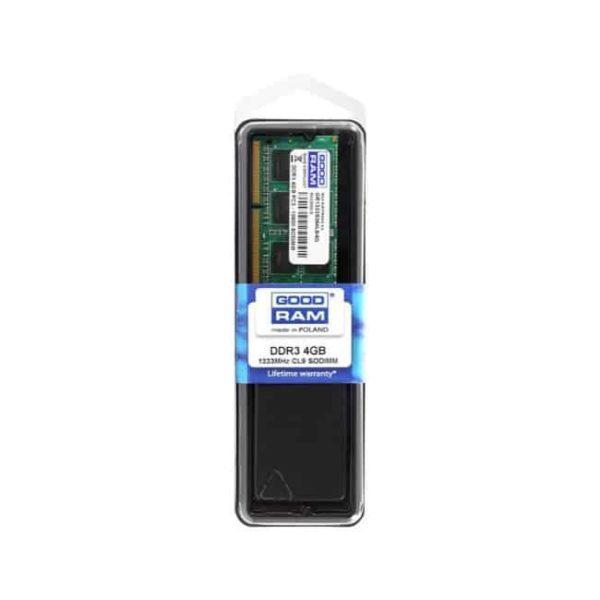 GOODRAM Μνήμη DDR3L SODIMM GR1600S3V64L11S-4GB, 4GB, 1600MHz, CL11