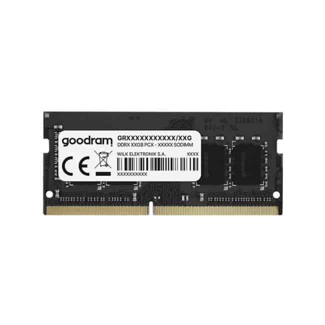 GOODRAM Μνήμη DDR4 SODIMM, 8GB, 2666MHz, PC4-21300, CL19 - Πραξη ΕΠΕ - Praxi Ltd