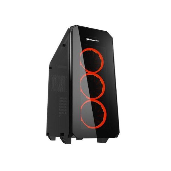 Product Image - CC-COUGAR Case PURITAS Middle ATX BLACK Tempered Glass USB 3.0 - Praxi Ltd - Πραξη ΕΠΕ