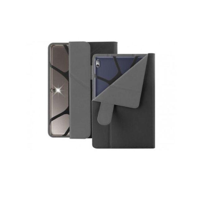 PURO UNI CASE 10.1'' TABLET wFOLDING BACK + STAND UP - Black - Praxi Ltd