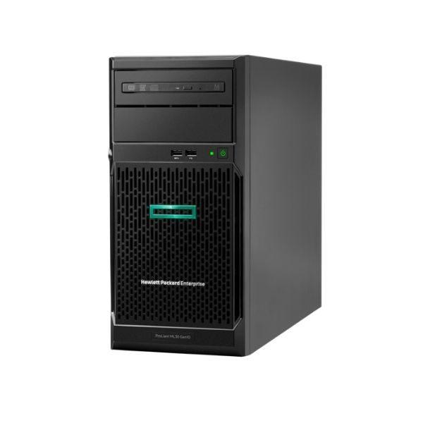 HPE ProLiant ML30 Gen10 E-2224 3.4GHz 4-core 1P 8GB-U S100i 4LFF-NHP 350W PS Server