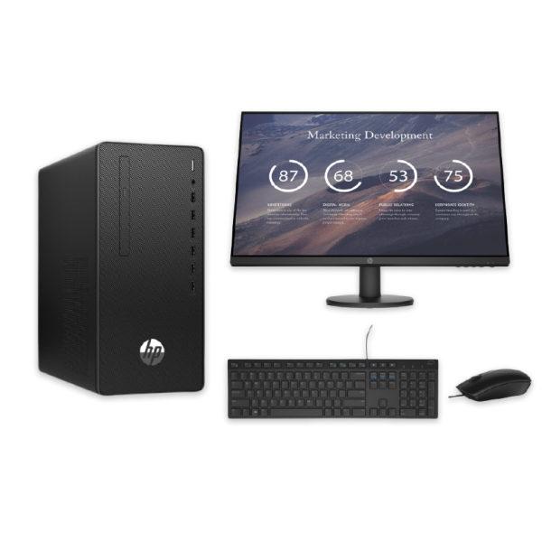 HP Desktop Bundle + Monitor + SET Keyboard Mouse - ΠΡΑΞΗ ΕΠΕ - 1